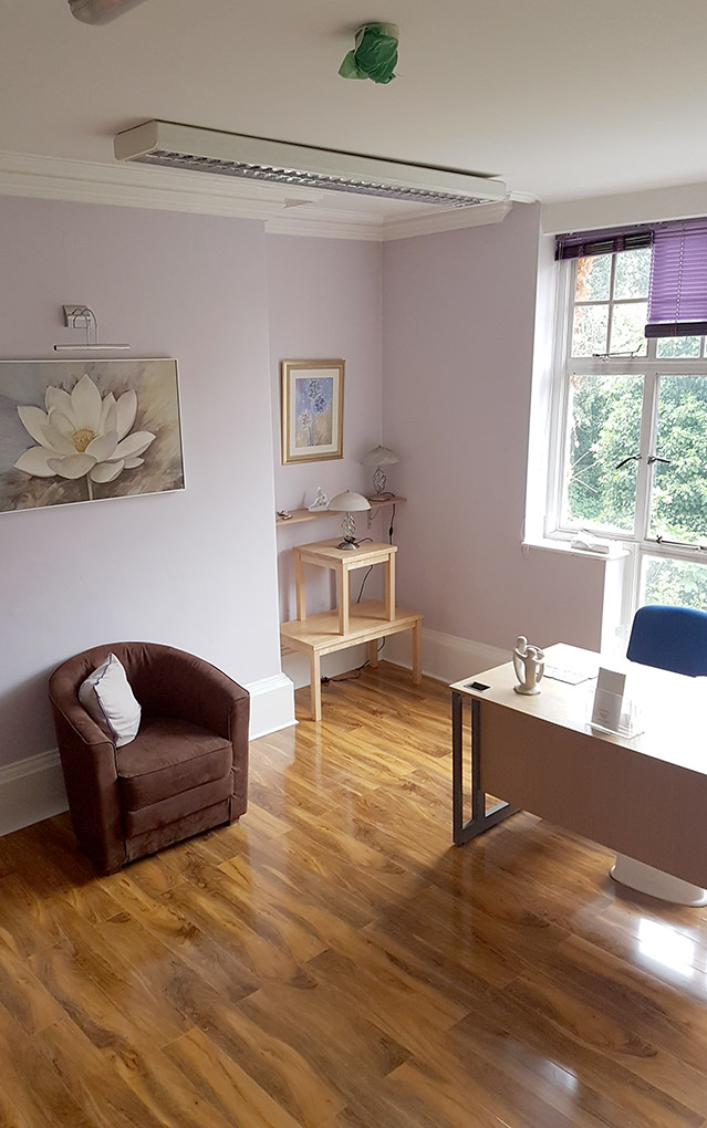 A typical office at Braybrooke house